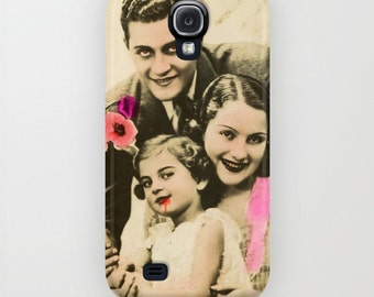 Galaxy S7 Collage Phone Case, Evil Family Phone, Satanic, Vintage Photo Collage, Evil Family Cell Phone Case, Galaxy 6 Case, iPhone 6
