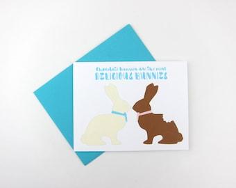 Delicious Bunnies: Easter Card