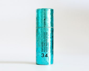 Abalone & Ocean - Solid Perfume Stick - Travel Fragrance - sea salt, ocean mist, sand, driftwood notes