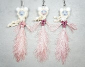 Whimsical Art Dolls - Hand Painted Art Dolls - Fairy Garden Fairies - Little Fairy Art Dolls - Woodland Fairies - Vintage Fairy Ornament