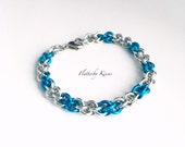 JPL Rope Style Bracelet - Silver & your choice of color