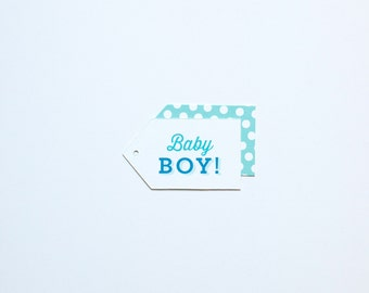 Baby Boy Gift Tags - 18 pack