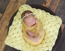 Crochet Pattern for Diagonal Weave Layering Blanket Photo Prop - Any Size - Welcome to sell finished items