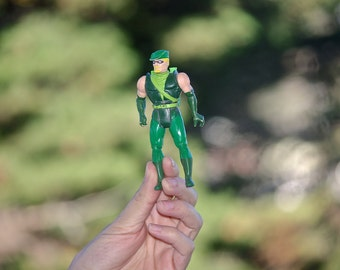 4GB Green Arrow USB flash drive vintage kenner 1980s '80s action figure comic book superhero birthday gift geeky boyfriend girlfriend hubby