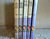 5 Bobbsey Twins books by Laura Lee Hope 1970's Collection Vintage   Lot A