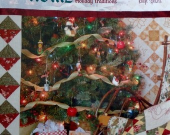 Christina DeArmond | CHRISTMAS At HOME | Quilts For Your Holiday Traditions - Embroidery Sewing Quilting Pattern Booklet