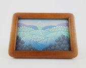 Vintage Handcrafted Wooden Picture Frame