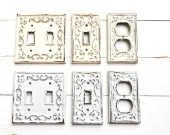 Metal light switch Etsy