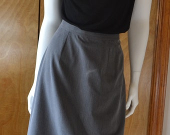 Ladies skirt, tailored, business wear, straight skirt, custom fit, straight skirt, ladies business dress, AC Ashworth, made in USA