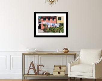 Burano Art Print, Travel Photography, Italy Photo, Venice Art, Gallery Wall Art Prints, Italy Art Print, Italian Wall Art, Fine Art Print