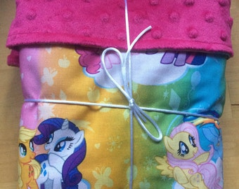 My little pony baby blanket