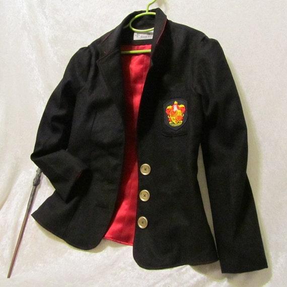 Preteen's Gryffindor School Blazer - Extended Length