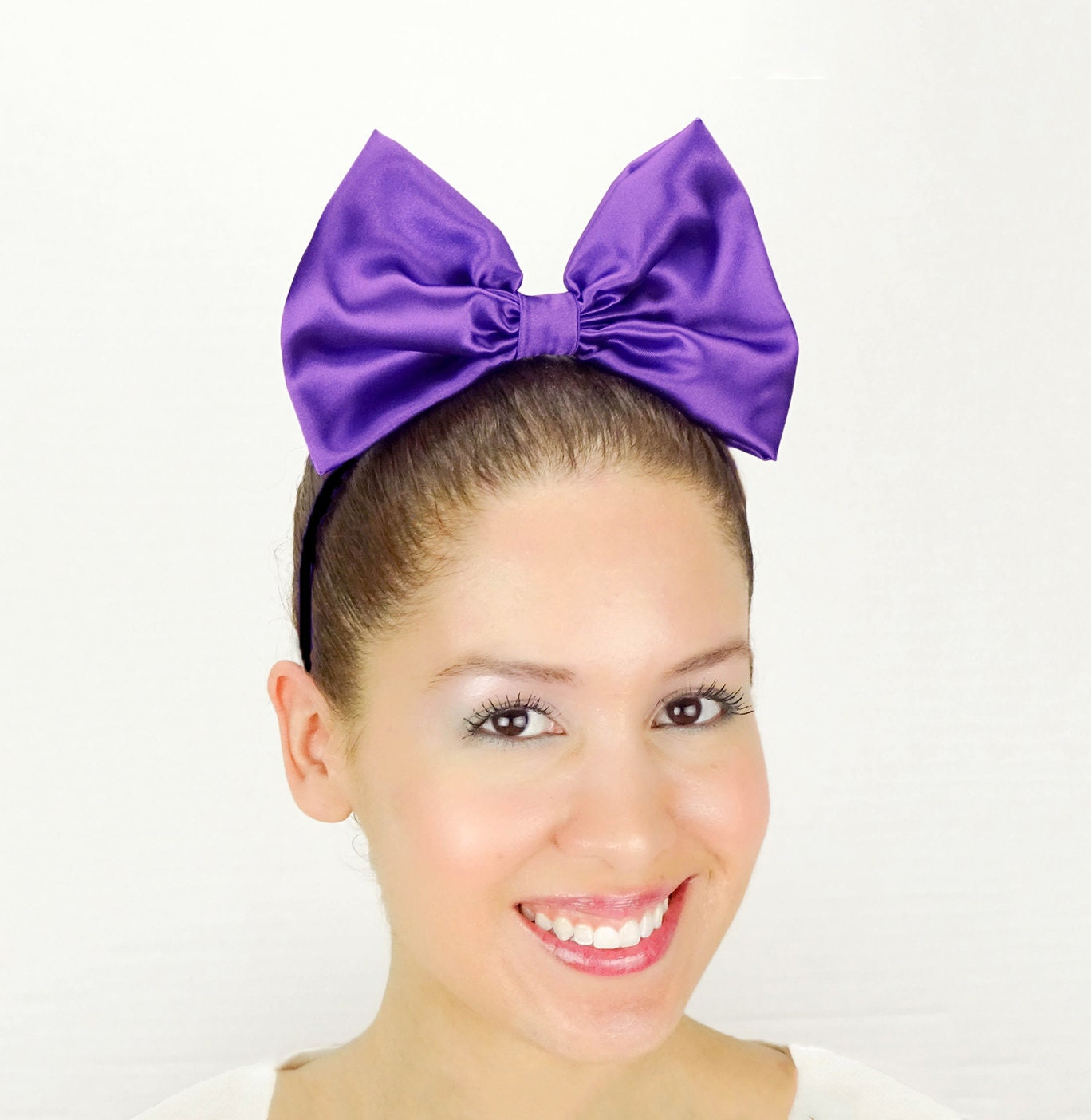 <b>Daisy Duck</b> Headband Purple Minnie Mouse Halloween Costume Purple <b>Daisy Duck</b> ... - il_fullxfull.1084962205_g5z6