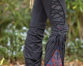 Stained Glass Teardrop Dance Pants - Festival Clothing Yoga Wear