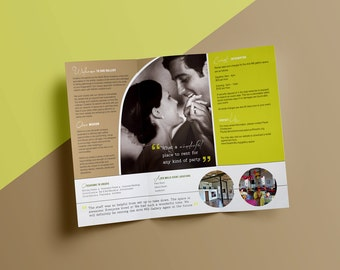 Brochure Custom Made to Order Design: Promote your Business in Style!