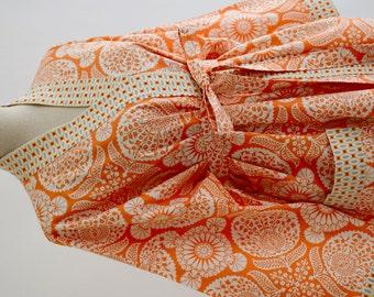 Cotton Robe - Robes - Cotton Robes -  Custom Kimono Robe - Bridesmaids Robe - Bath Robe - Cotton Kimono Robe