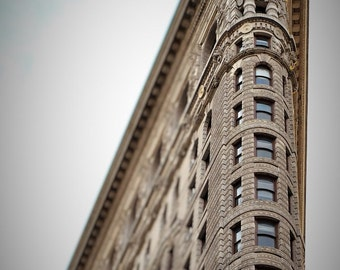 New York Photo Print Modern Home NYC Wall Decor Flatiron Building Photograph Neutral Decor NYC Photo Print Art Deco NYC Art Architecture Art