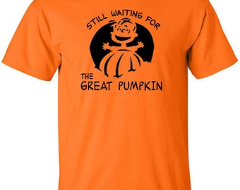 The Great Pumpkin T-Shirt Linus Charlie Brown