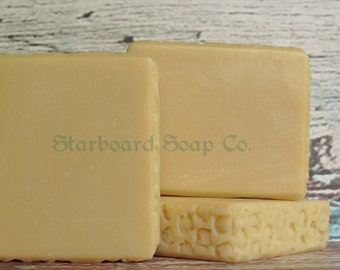 Honey Ale Soap Handmade with Beer, Honey and Shea Butter - Beer Soap - Honey Soap - All Natural Soap - Florida Soap
