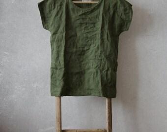 Linen Tee Shirt
