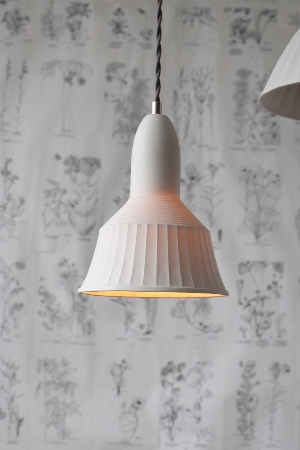 porcelain lighting. veda porcelain pendant light modern lighting design translucent
