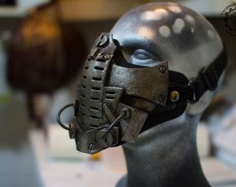 Xenogeist - Cyberpunk dystopian mask ''Decadence'' Variant. - Ready to ship
