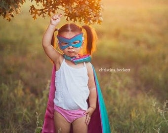 Superhero Party Cape - Blank Super Hero Cape - Birthday Cape - Superhero Costume - Costume Cape - Super Hero Cape - Photo Shoot