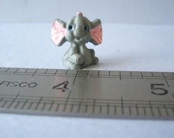 Cute Elephant Ornament for 1:12th Dolls House