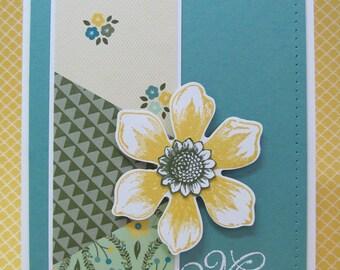 Handmade Miss You Card, Miss You, Handmade Card