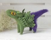 Little agrimony, Needle felted creature, Fantasy fairy beast figurine