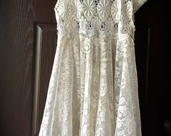 Once Upon A Dream Dress French Cottage Vintage  Style Timeless  Beauty XL