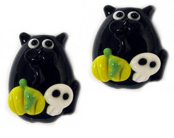 Lampwork Glass Novelty Pet Beads, Sizes for 18 to 35mm in Length