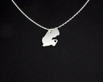 Djibouti Necklace - Djibouti Gift - Djibouti Jewelry