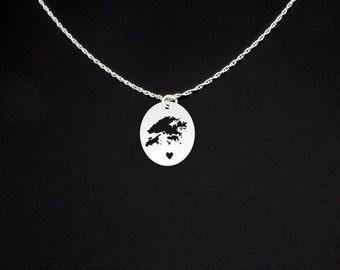 Hong Kong Necklace - Hong Kong Jewelry - Hong Kong Gift