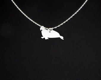 Elephant Seal Necklace - Elephant Seal Jewelry - Elephant Seal Gift