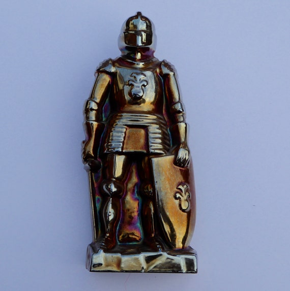 1960s Cast Iron English Knight Fireside Companion By