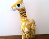 Meet Gandalf. Giraffe Toy, Stuffed Giraffe, Pillow, Nursery Decor, Soft Toy, Kids Room Decor, Giraffe Cushion, Decorative Pillow