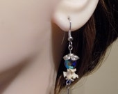 Snake Bone Jewelry Earrings Real Bone