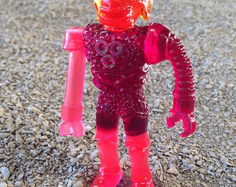 SEA-BORG MUTATION  Wave 2 Plastic Resin Figure - raspberry robot arm