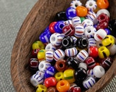 20g Czech seed beads Mixed colorful seed beads MIX-28 Czech rocailles Seed bead soup 5/0 seed beads last