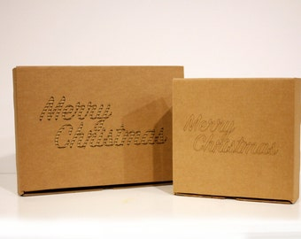 Merry Christmas box | Personalized packaging