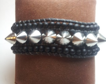 Teen Gift, Teen Jewelry, Spike bracelet, Christmas gift, teen girl bracelet, Rocker girl jewelry, Spike Jewelry, Teen Gift, Teen Rocker