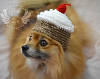 Pet Cupcake Beanie (XS-XL) Any Colors