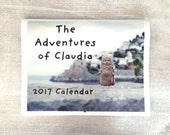 The Adventures of Claudia Porcelain Doll Photography 2017 Wall Calendar Yearly 12 Month