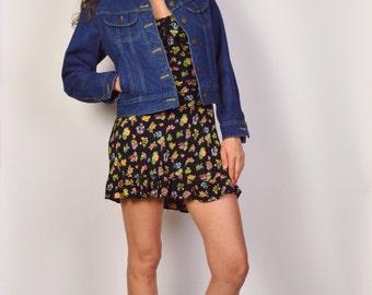 Lee Blue Jean Jacket Denim Vintage
