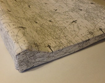 Vintage Maps Changing Pad Cover