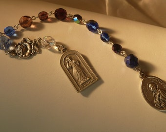 Saint Monica ~Rosary Chaplet,St of mothers,Pray for Children,Lost Children,Pray for Salvation,Lost Catholics,Pray for Souls,Worry Children,