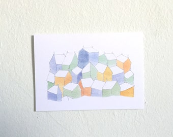 Golden House Greeting Card