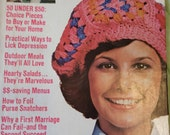 1974 Womans Day Magazine with Granny Square Instructions