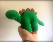 Handmade Stephen the Stegosaurus Plush